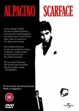Scarface DVD Al Pacino Michelle Pfeiffer By Oliver Stone Rated 18
