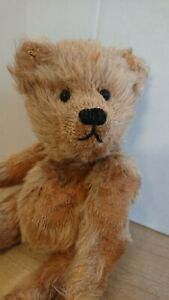 Vintage Norbeary Bear. Made to look old and well loved. Mohair/glass eyes. 22cm.