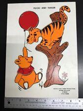 Vintage Disney Winnie the Pooh and Tigger 10 Piece Puzzle Tray