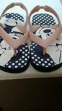 Pre-owned Mickey Mouse pink  thong sandal Size 8