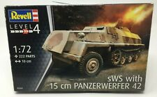 Revell sWS 15cm Panzerwerfer German Military Tank 42 Model Kit 03264 1:72 Scale