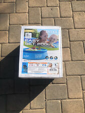 """New Intex 8' x 30"""" Easy Set Inflatable Above Ground Pool No Pump Ships Now"""