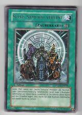YU-GI-OH Sechs Samurai Vereint Rare PTDN-DE059