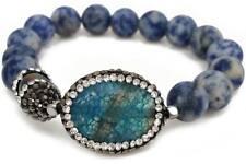 Wildberry Beaded Bracelet Cute Fashion Jewelry (Blue)