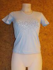 Tee shirt  équitation EQUI THEME Diamond (963080120) , femme / BLEU en S
