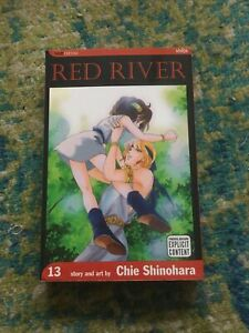Red River Manga English Volume 13 First Printing, First edition Great Condition