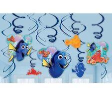 Disney Finding Dory Nemo Birthday Party Hanging Swirl Decoration Pack Kids Nemo