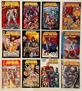 LOT OF 24 SUPREME V2 #41-56 + 63 x 4 SET + VARIANT IMAGE ALAN MOORE LIEFELD 1996