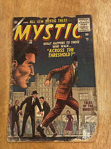 MYSTIC #48 (June 1956 Atlas Comics) 6 Total Mystical Tales to Surprise You!
