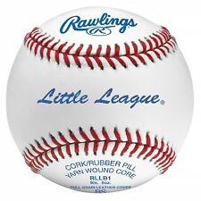 Little League Competition Grade Baseball Leather Official Game Ball Dozen White