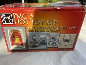 PMC 3 Hot Pot Kit with Silver Metal Clay