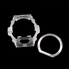 ORIGINAL CASIO G-SHOCK REPLACEMENT BEZEL SET for G8900DGK-7 G-8900DGK-7, CLEAR