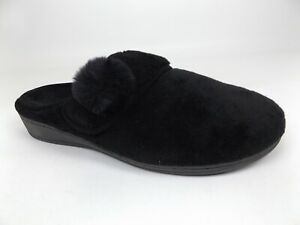 Vionic Women's Indulge Emily  Mule Comfort Slippers Size 8.0 Black,    21519