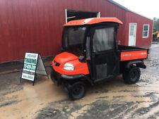 2006 Kubota Rtv900 4x4 Hydro Diesel Utility Vehicle w/ Cab & Dump Bed 1600Hrs!