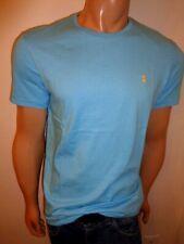 Ralph Lauren Polo Mens Crew Neck Pony Logo T-shirt Blue/green Regular L Blue