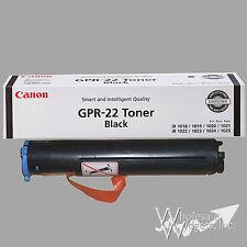 Genuine Canon GPR22 Black Toner ImageRUNNER 1018 1022 1025 0386B003AA GPR-22 GPR