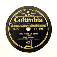 "Ruby Murray ""dos tipos de lágrimas/Get Well pronto"" Columbia DB-3518 [78 Rpm]"