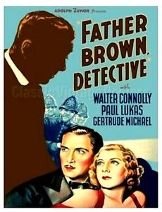 16mm Feature Film: FATHER BROWN, DETECTIVE (1934) Mystery - KODAK ORIGINAL