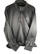 Callaway Golf Long Sleeve Quarter Zip Lightweight Top Men's size Xxl Black