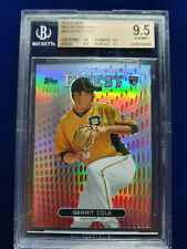 GERRIT COLE 2013 Topps Finest RED REFRACTOR 24/25 RC Rookie BGS 9.5 QUAD+10