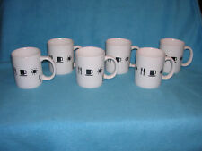 The Museum of Modern Art Set of Six Mugs, Eyes, Utensils and Coffee Cup