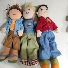 Groovy Girls Dylan Brandon Blake 3 Boy dolls