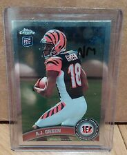A.J. GREEN ROOKIE 2011 TOPPS CHROME NM!