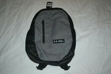 NEW Under Armour UA ROLAND Storm 17L Graphite Heather Backpack Book Bag