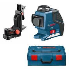 Bosch Kreuzlinienlaser GLL 3-80 P inkl. BM1, Tasche, Batterien, L-Boxx