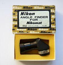 Nikon Angle Finder for F Photomic FTn & Nikomat Nikkormat SLR Cameras