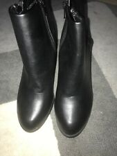 Dorothy Perkins Black  Heeled Ankle Boots New Size UK 6 EU 39