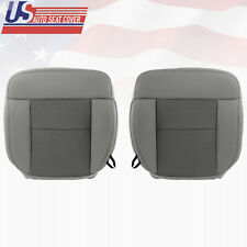 2004 2005 2006 Ford F150 FX4 Driver-Passenger Bottom Cloth Seat Cover Flint Gray