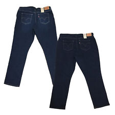 Levis Womens Classic Mid Rise Hyperstretch Sculpting Skinny Jeans