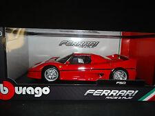 Bburago Ferrari F50 ROJO 1/18
