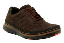 New Rockport Perforated Mudguard Leather Men Sneakers Sz 11