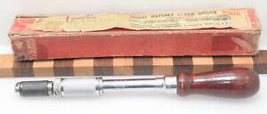 Vintage Millers Falls No. 61A Spiral Screwdriver IOB (J934)