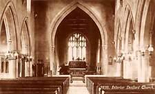 England (Northamptonshire) Denford Holy Trinity Church Interior