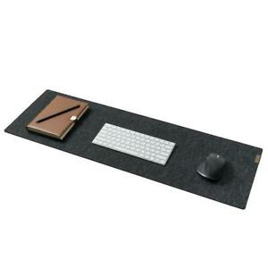 Felt & Cork Desk Mat- Anthracite. By Oakywood Goods