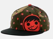 Neff Corpo Camo Snapback Black Green Red Mens Adjustable Ball Hat Cap NWT