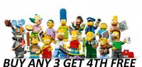 LEGO MINIFIGURES SIMPSONS SERIES 1 71005 PICK CHOOSE + BUY 3 GET 1 FREE