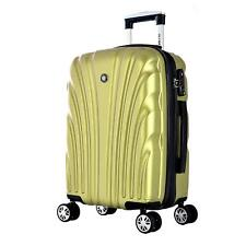 Olympia Vortex 24 Inch Carry-On Hardcase Spinner with TSA Lock, Green