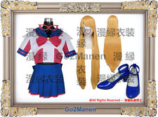 Costume Wig Shoes H7 Sailor Moon V Cosplay Costume Sailor V Aino Minago Venus