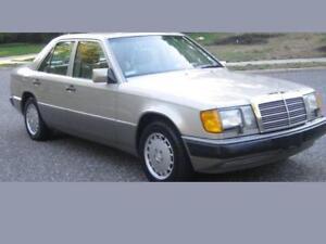 W124  Mercedes Benz Front leather seat covers  260e,300e,300ce, 300d ,e320,e420
