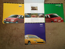 Fiat Foldout Preview Brochure Leaflet October 1994 - Coupe Cinquecento Ulysse