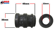 KTM MOTORCYCLE EXHAUST SILENCER, TAILPIPE RUBBER SEAL, GASKET SILICON SLEEVE