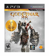 God of War Saga Sony PlayStation 3 PS3 2-Disc Game W/ Case & Insert!
