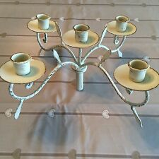 Unbranded Antique Style Iron Candle & Tea Light Holders