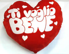 CUSCINO CUORE 100 CM TI VOGLIO BENE San Valentino Love Amore Festa BE5202031