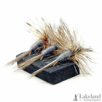 3, 6 or 12x Adams Dry Trout Flies for Fly Fishing