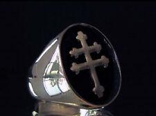 bague bronze CROIX de LORRAINE  Neuve (Taille au choix) General De Gaulle